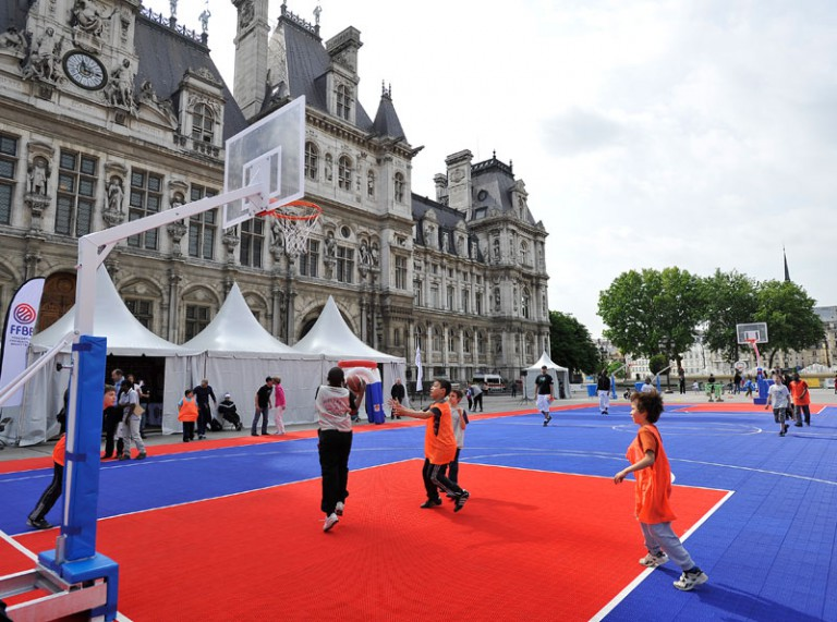 Fête du basket - Paris Hôtel de Ville 2015