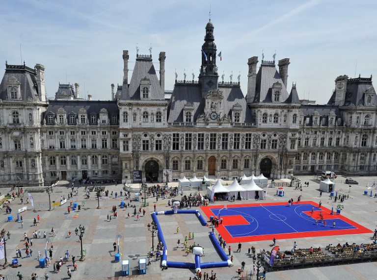 Fête du basket - Paris Hôtel de Ville 2011
