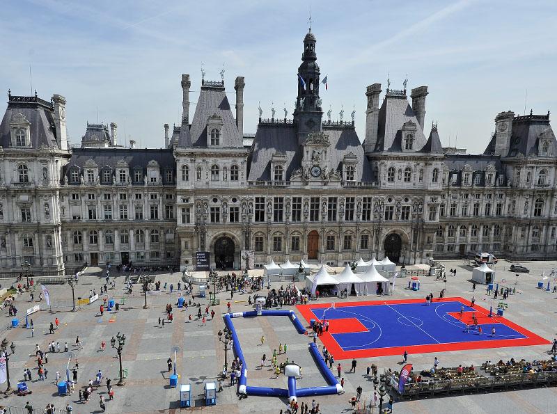 Fête du basket - Paris Hôtel de Ville