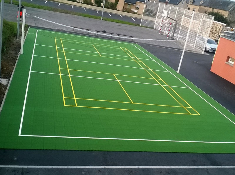 Terrain Multisport Volley / Badminton - Manche